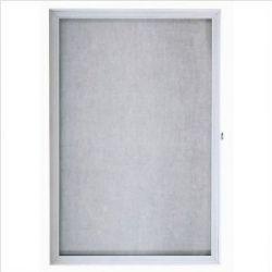 Enclosed Bulletin Fabric Board