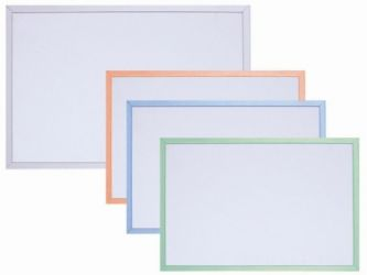 magnetic whiteboard with plastic frame